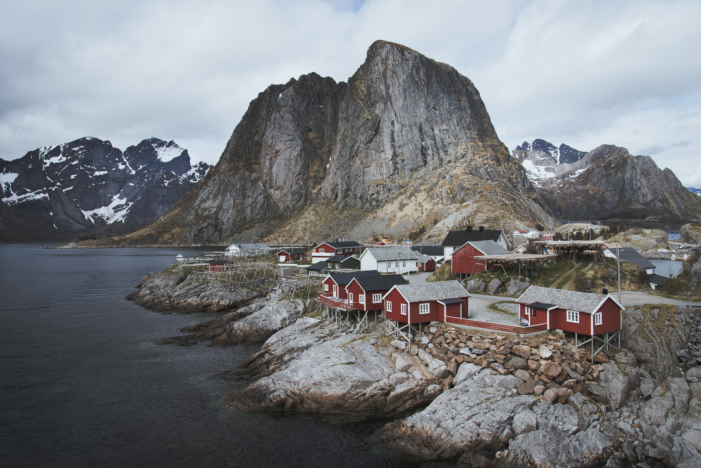 Lofoten red houses