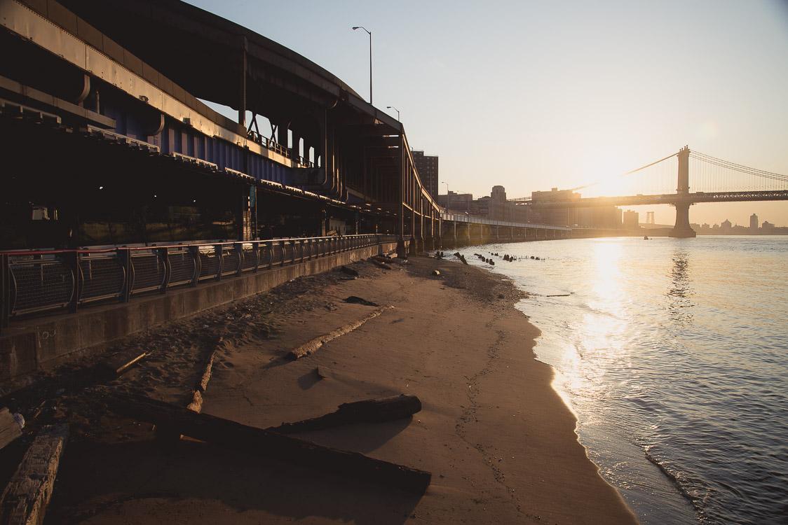 Sunrise East river