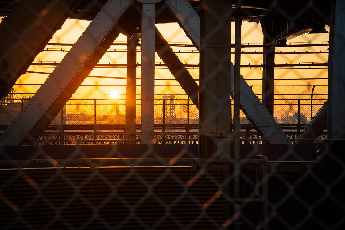 Sunrise manhattan bridge
