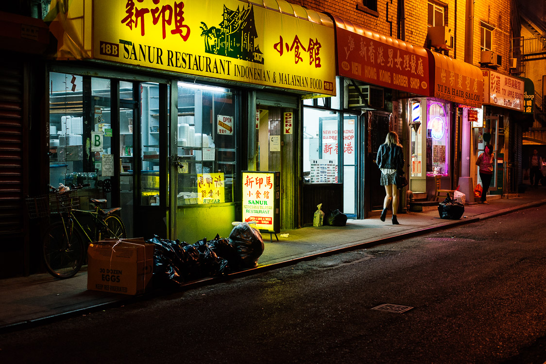 night in Chinatown