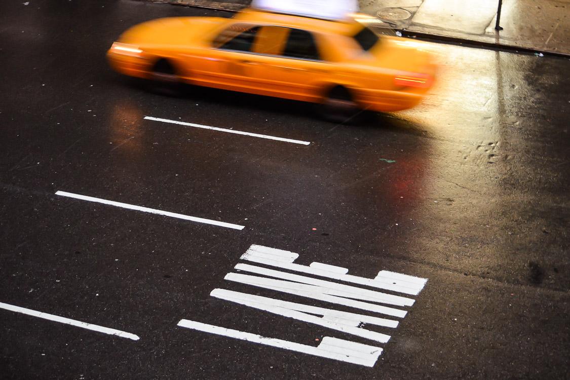 taxi lane