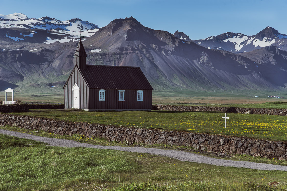 Black Church in Iceland Sebastien Mas