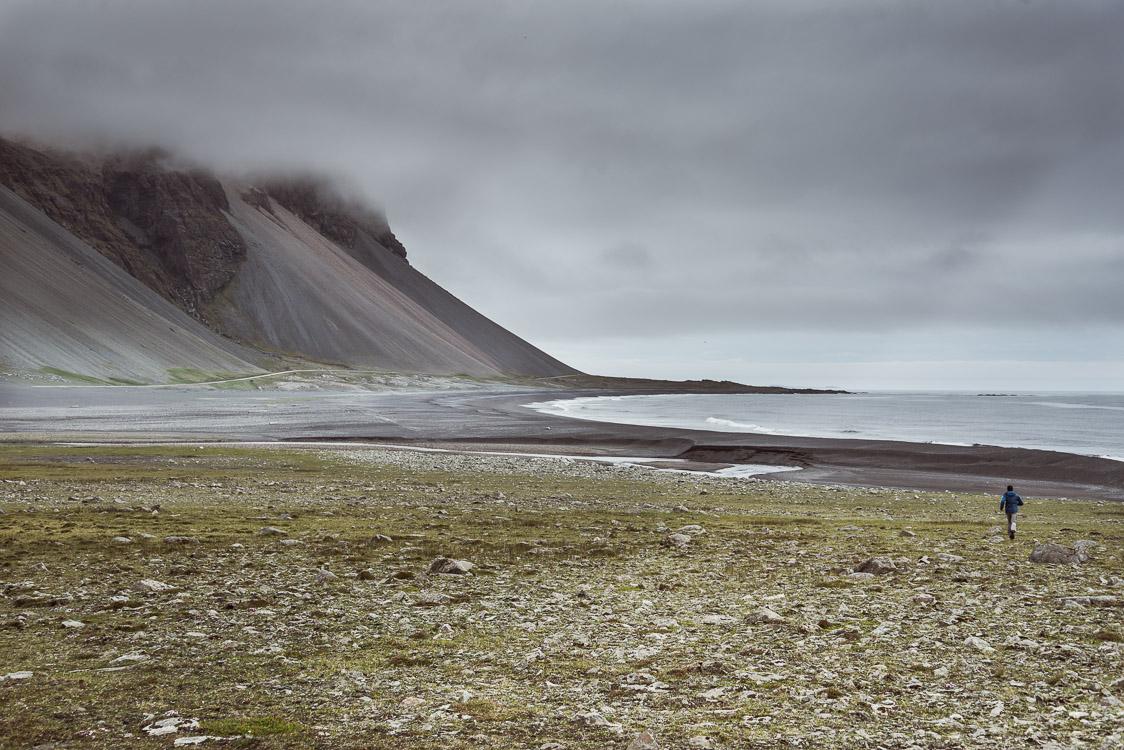 Black sand beach road Iceland Sebastien Mas