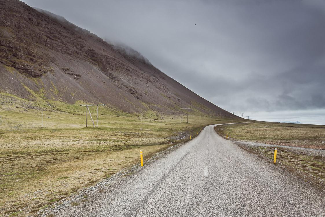 Foggy Road Iceland Sebastien Mas