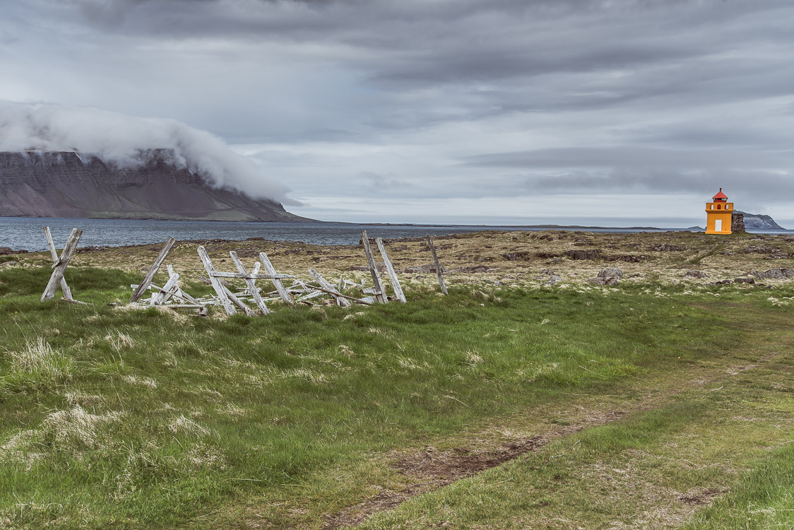Lighhouse Fjord Iceland Sebastien Mas