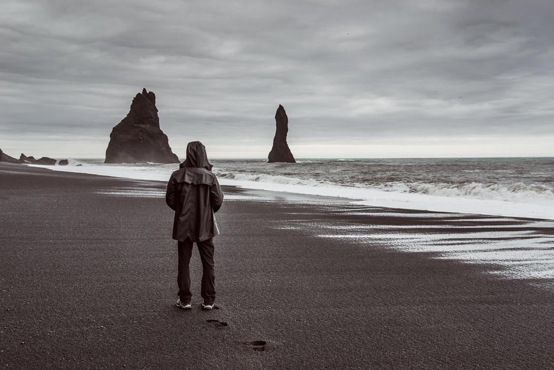 Reynisfjara Plage Sable noir Islande Sebastien Mas