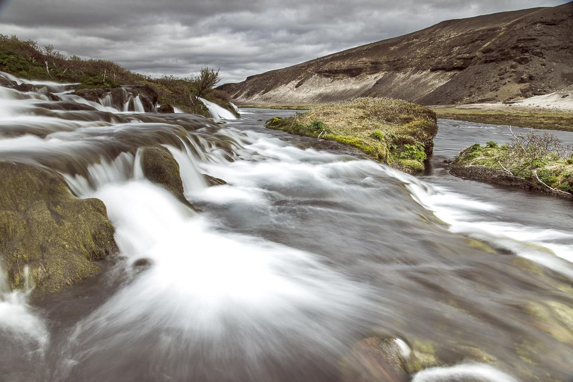 Rivière Islande Pose Longue Sebastien Mas