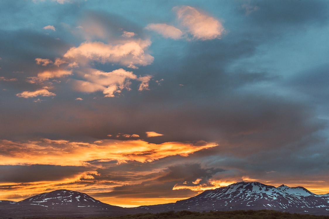 Sunset sky Sebastien Mas