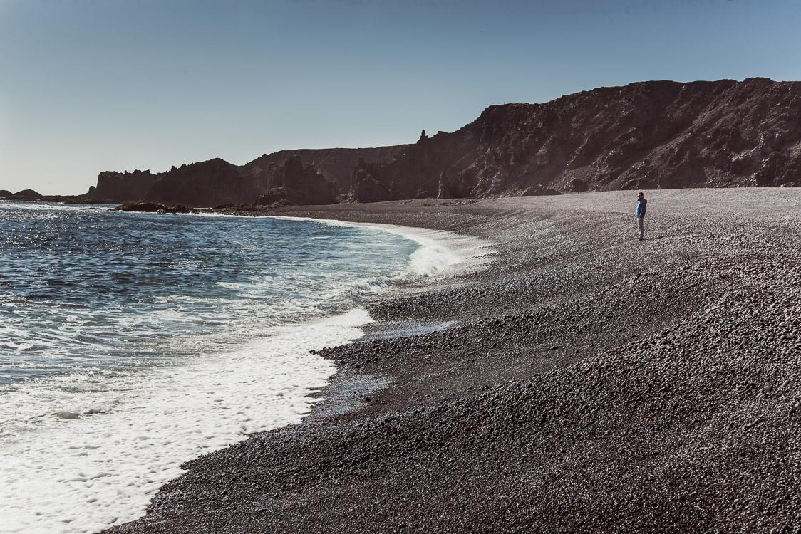 dritvik beach Iceland Sebastien Mas