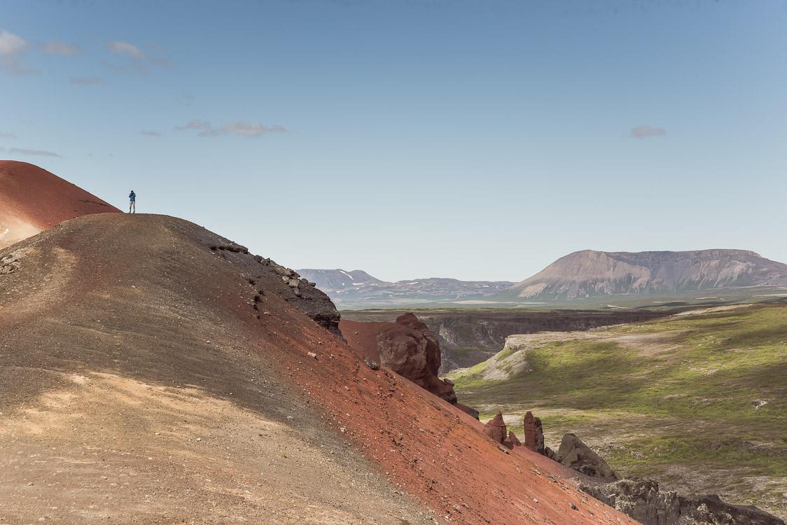 raudholar mountain Iceland