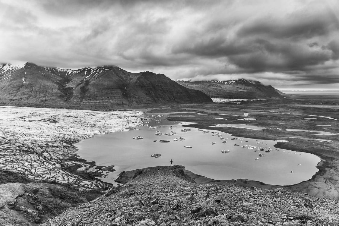 skaftafellsjokull glacier Islande Sebastien Mas