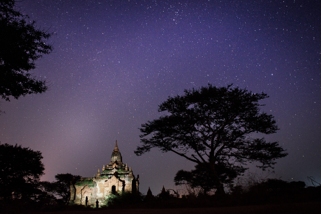 night in bagan