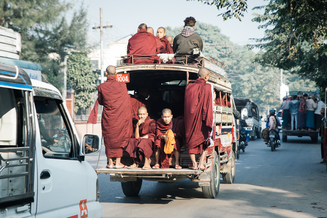 Monk transportation