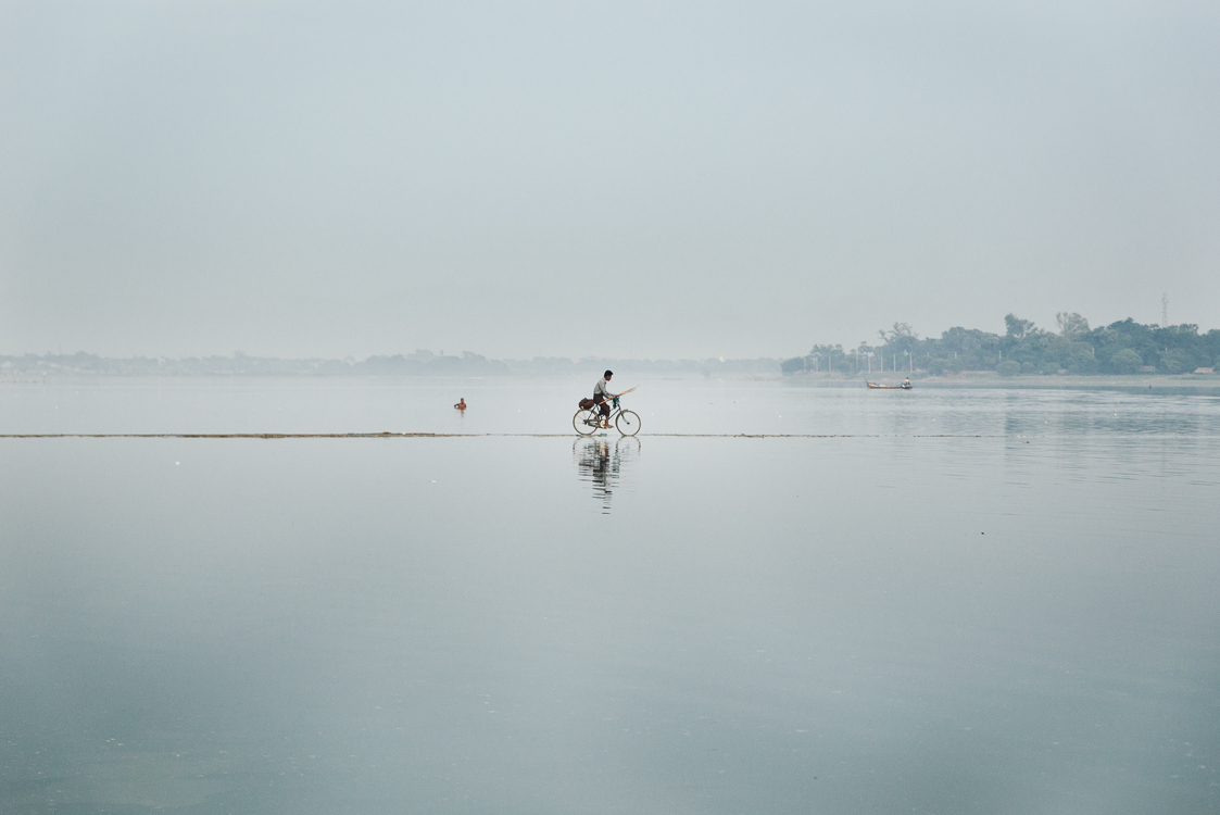 Bike on the lake
