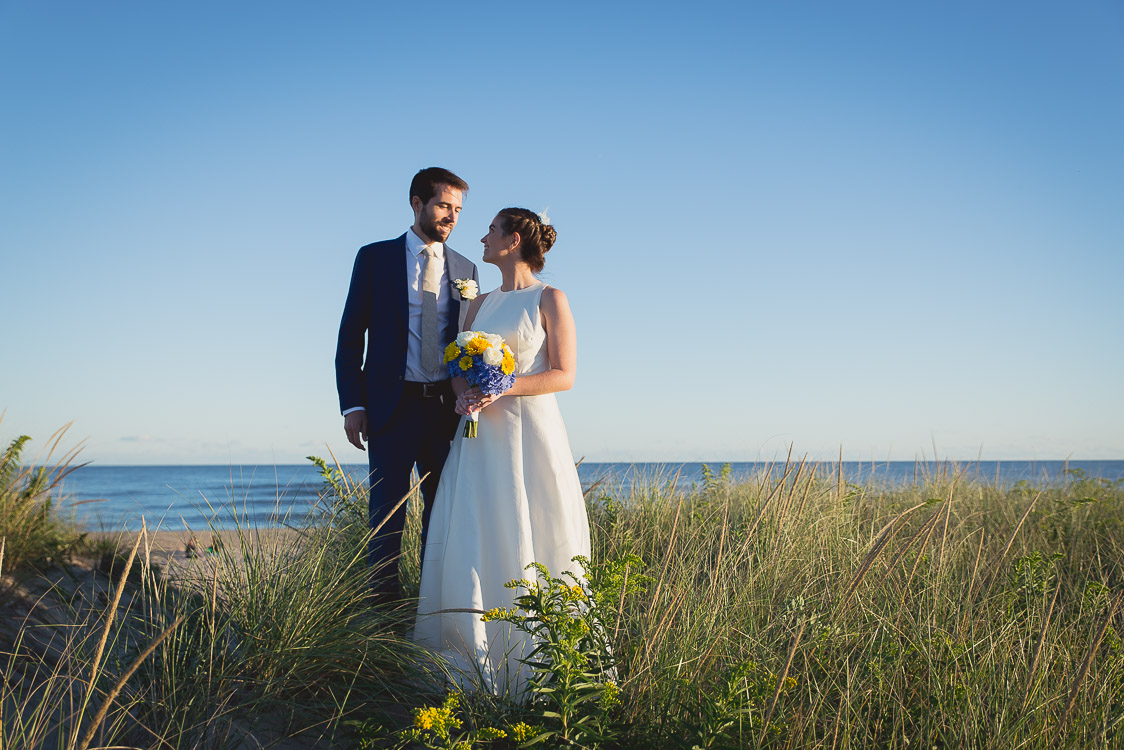 east hampton wedding photography beach