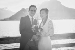 Mariage automne Talloires Lac d'Annecy