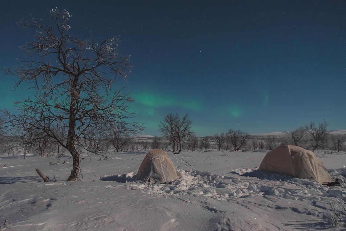 Aurores boreales finlandes