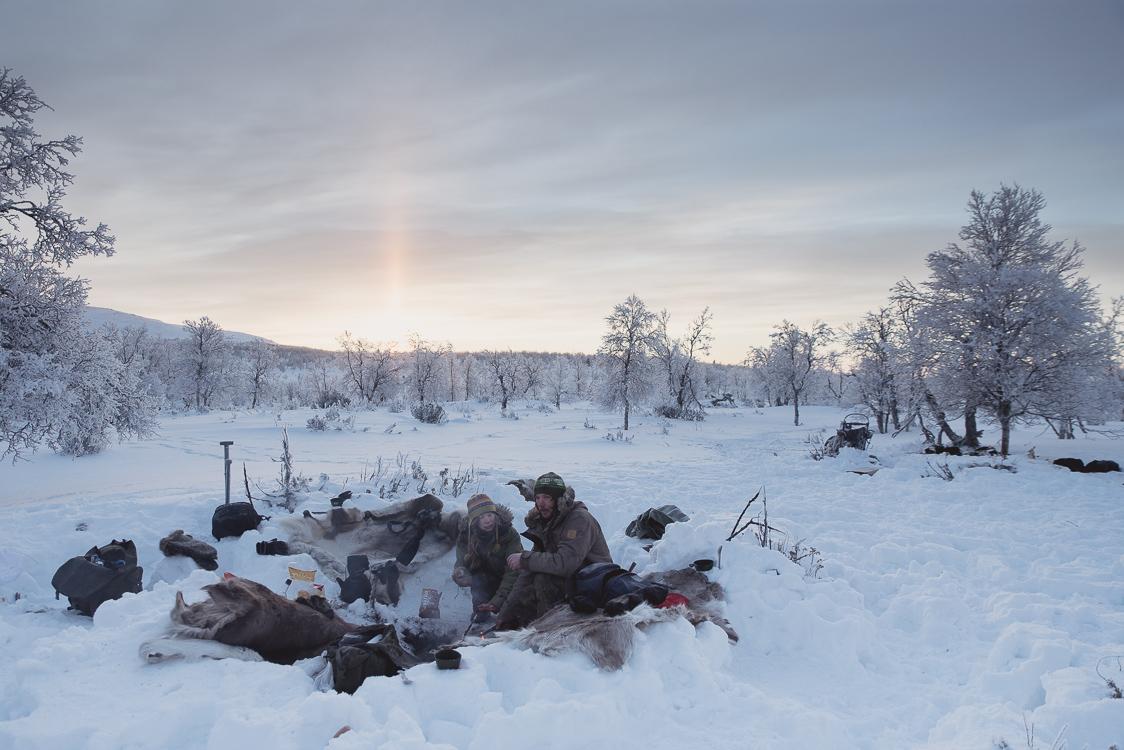 campement Laponie