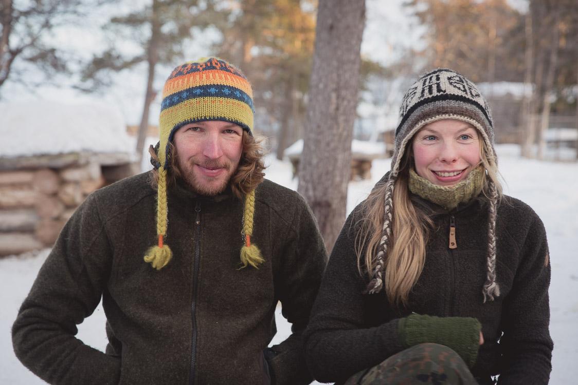 Tinja Alex Siperia Siperian arktinen rekikoiratarha Inarissa