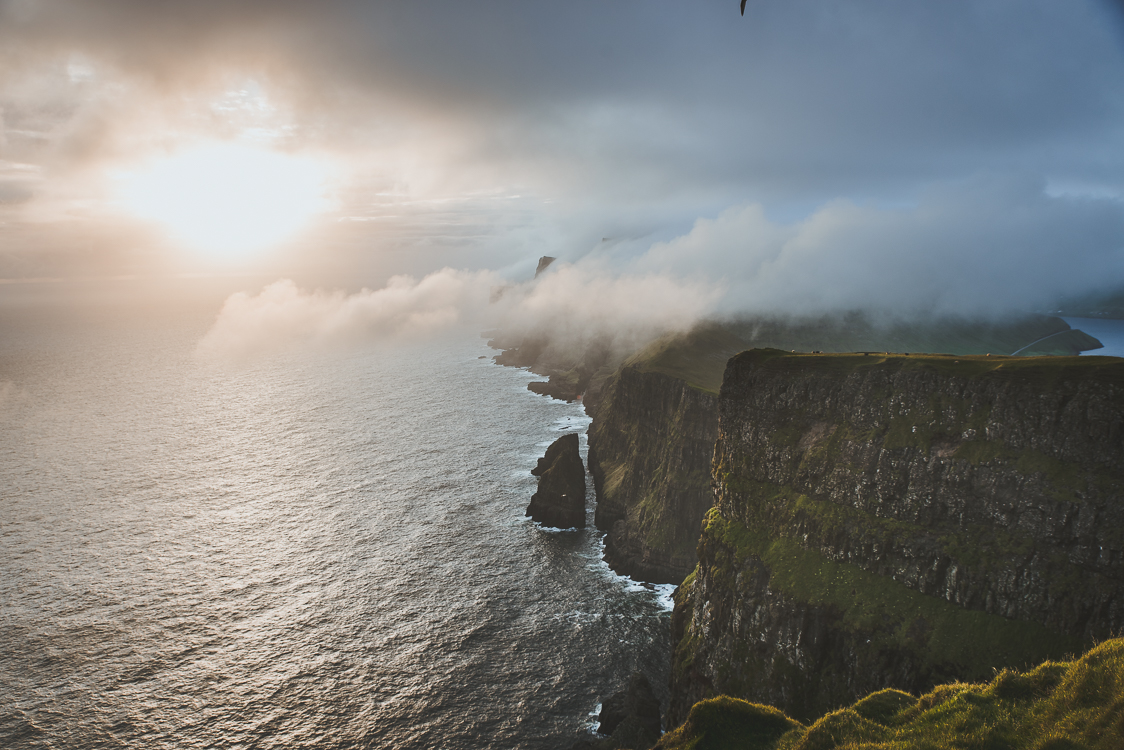 Beinisvord cliffs Faroe Islands
