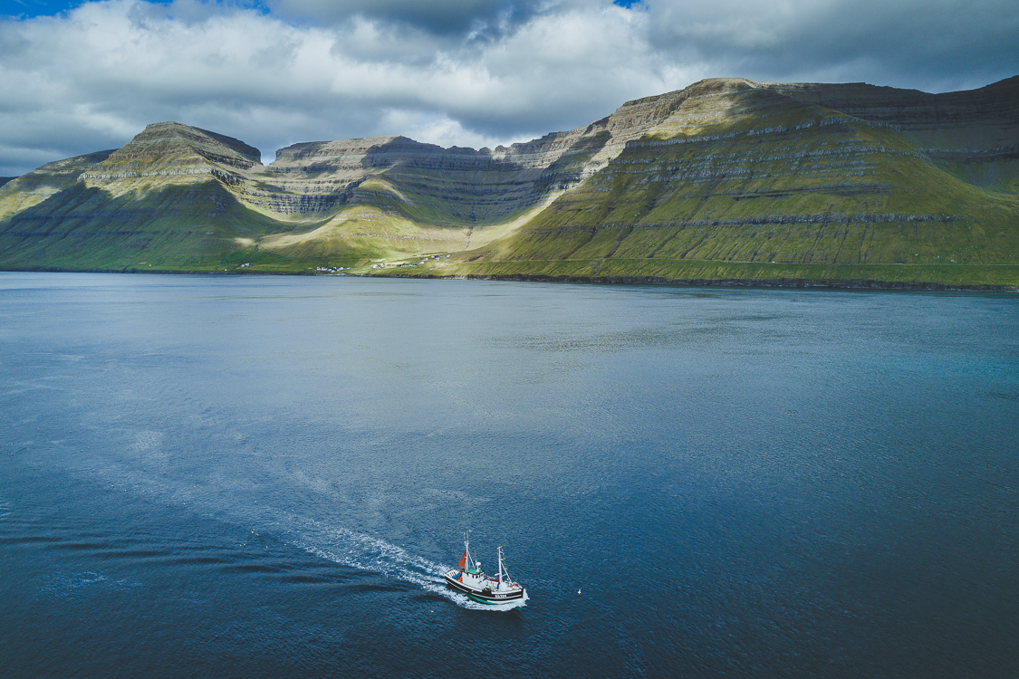 Fishing boat in Faroe